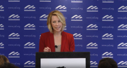 Senior Media Fellow Katy Grimes Addresses the Young America's Foundation's High School Conference