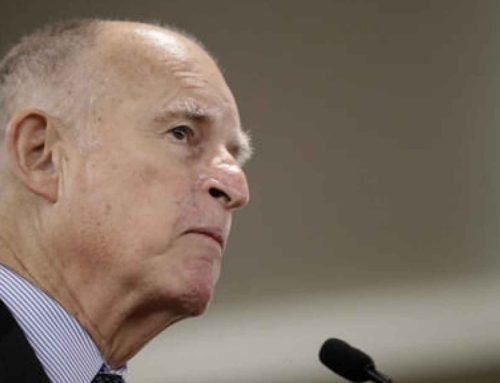 Grimes: CALIFORNIA GOV. JERRY BROWN SEEKS PERMANENT BAN ON OIL AND GAS DRILLING