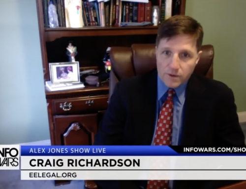 """Alex Jones Show: Richardson Discusses E&E Legal Report """"The Rockefeller Way"""""""