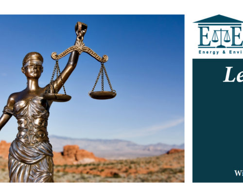 E&E Legal Letters Issue XIV: Winter 2017