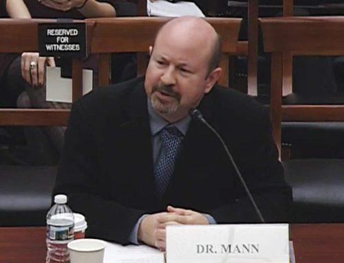 National Review: Michael Mann Embarrasses Himself before Congress