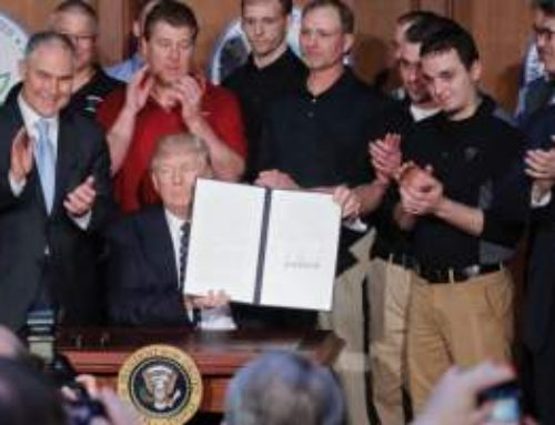 "New American: Trump Takes Chainsaw to Obama's ""Climate"" Schemes"