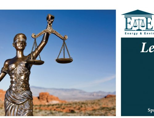 E&E Legal Letters Issue XV: Spring 2017