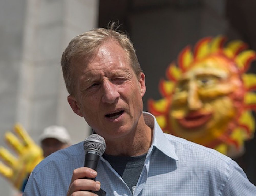 Washington Free Beacon: Steyer Critics Call Out Tax-Break 'Hypocrisy' Over Support for New Tesla Subsides