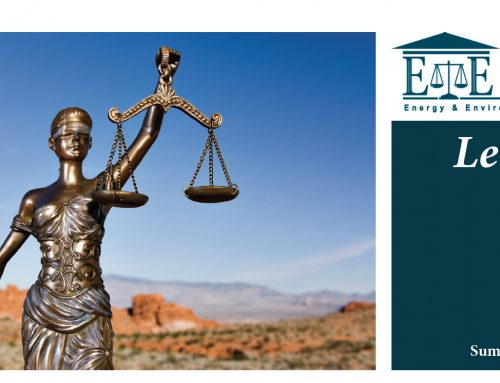 E&E Legal Letters Issue XVI: Summer 2017