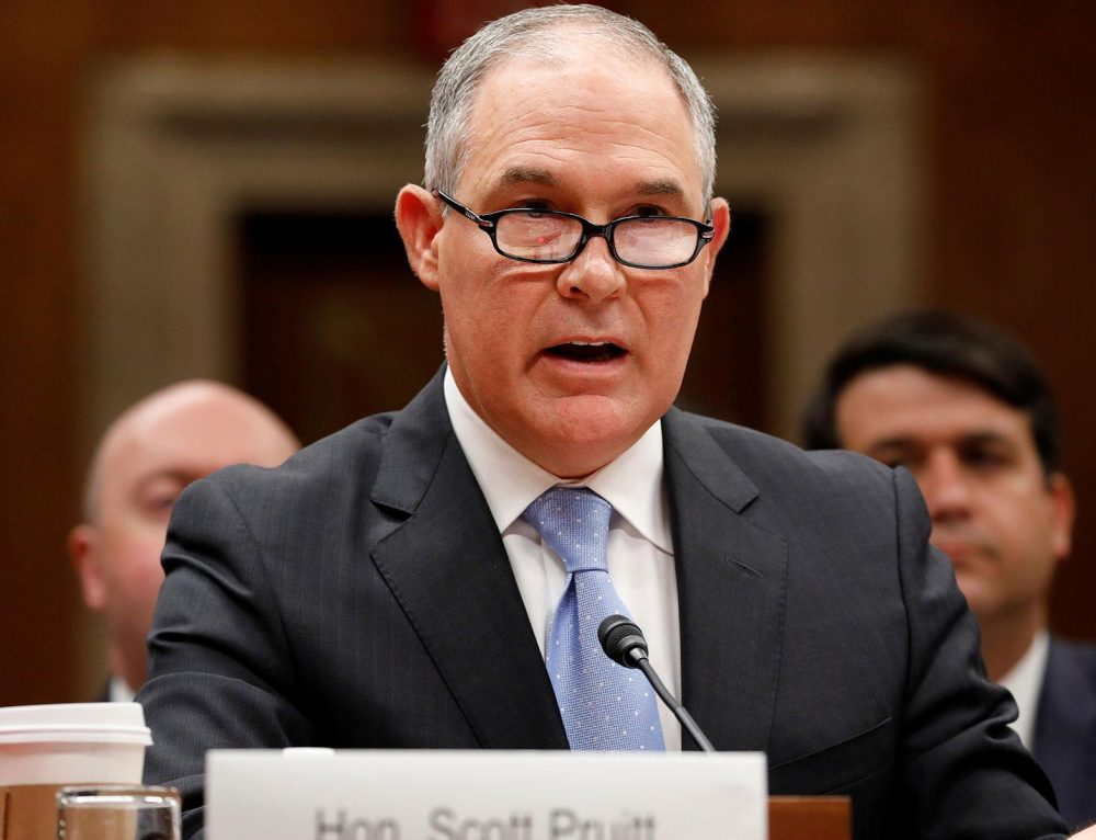 National Review: The Lynch Mob Targets Scott Pruitt