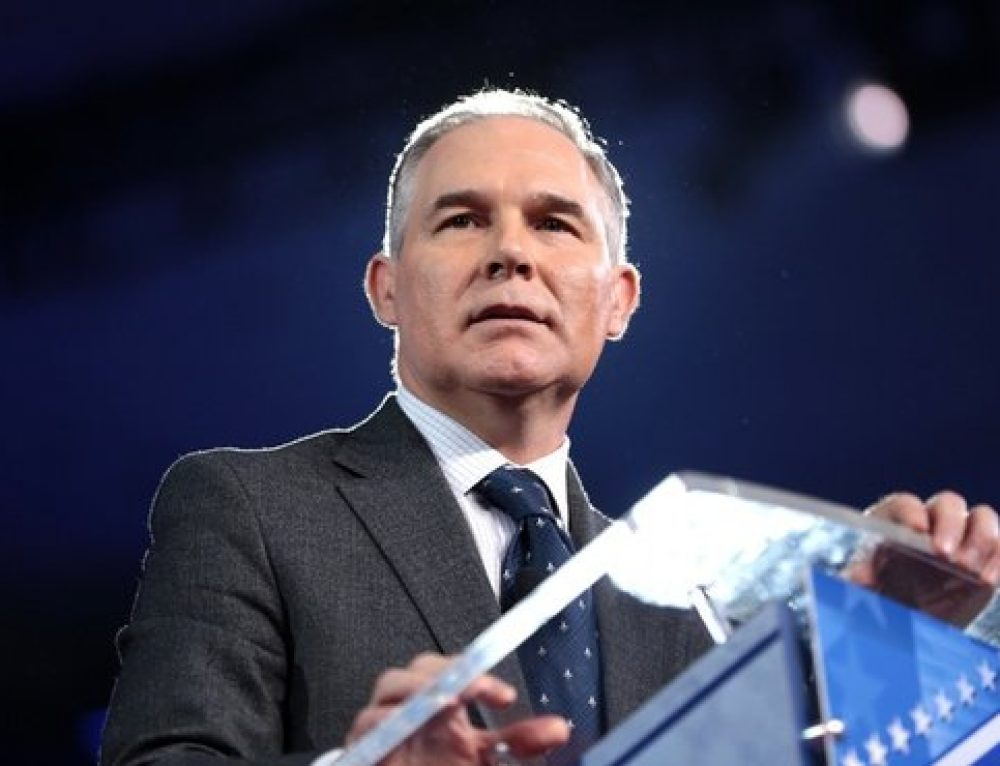 ClimateWire: Where, Exactly, Does EPA Chief Pruitt Stand on Climate?