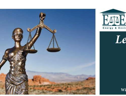 E&E Legal Letters Issue XVIII: Winter 2018