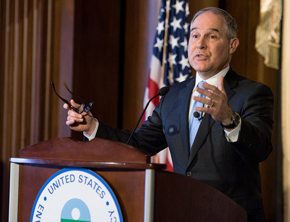 E&E News: Pruitt is expected to restrict science. Here's what it means