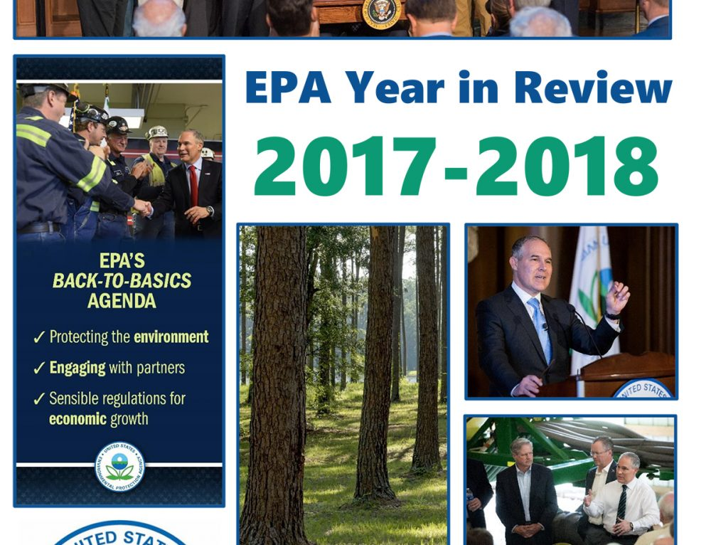 EPA Releases Year-in-Review Report; E&E Legal's Steve Milloy Quoted