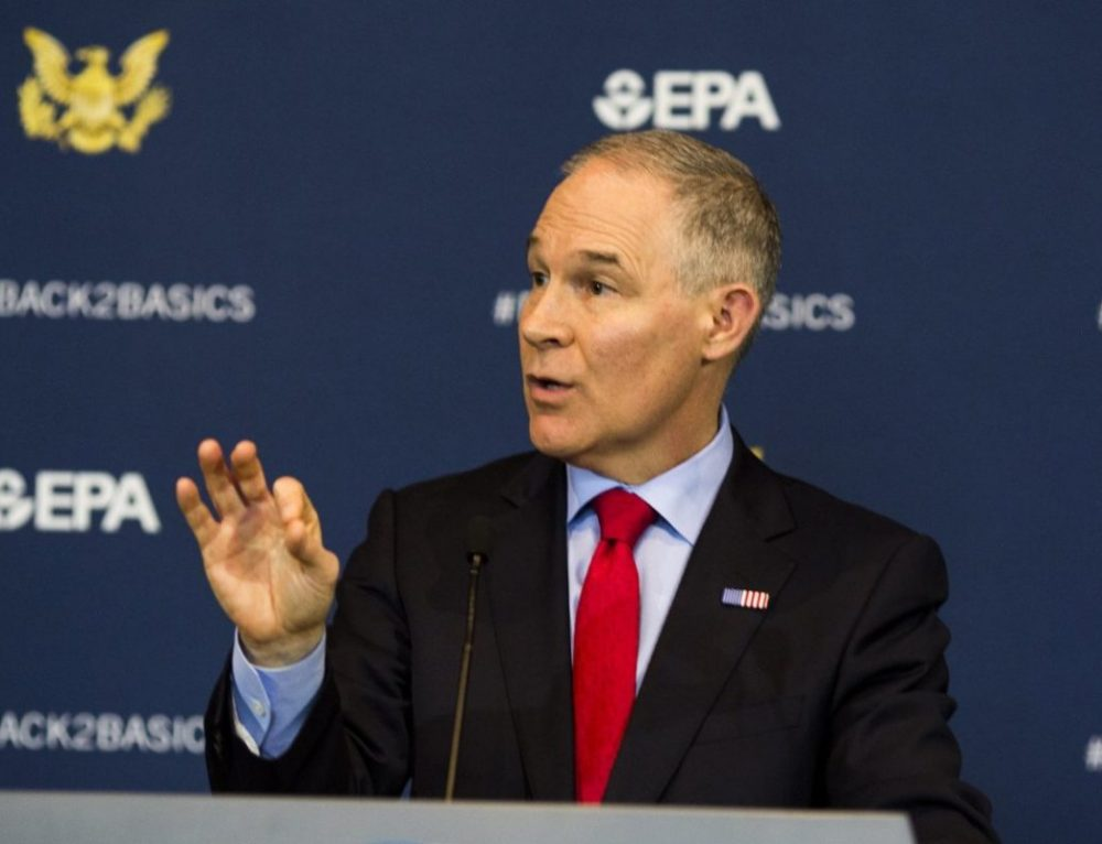 MarketPlace: Pruitt out, but not many changes expected at EPA