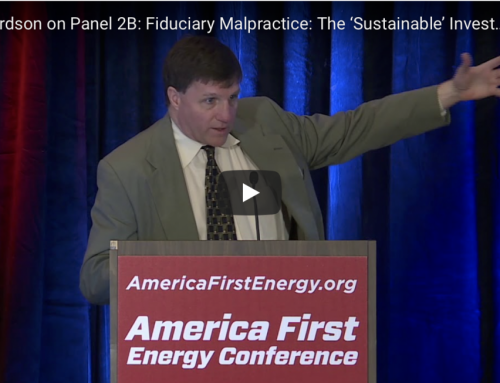 Richardson's Presentation at Heartland's Energy First Conference