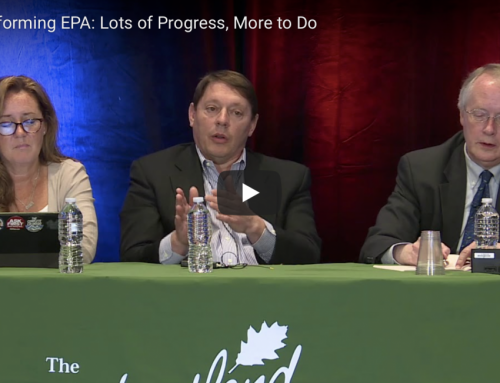 Milloy's Participation at Heartland's Energy First Conference Discussing EPA Reforms