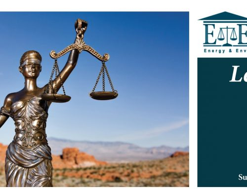 E&E Legal Letters Issue XX: Summer 2018