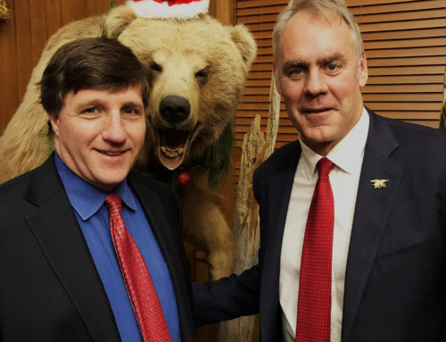Ringing in Christmas Cheer with Secretary Zinke