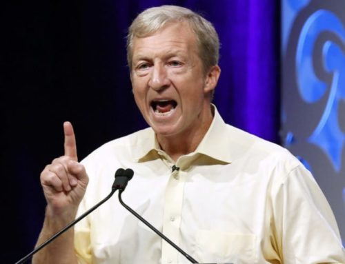 Daily Caller: Why Was liberal Billionaire Tom Steyer so Quiet About his Support for the Green New Deal?