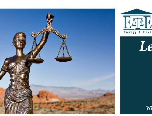 E&E Legal Letters Issue XXII: Winter 2019