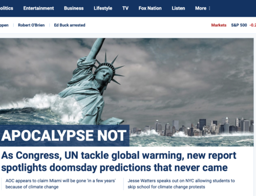 Fox News.com: Doomsdays that didn't happen: Think tank compiles decades' worth of dire climate predictions