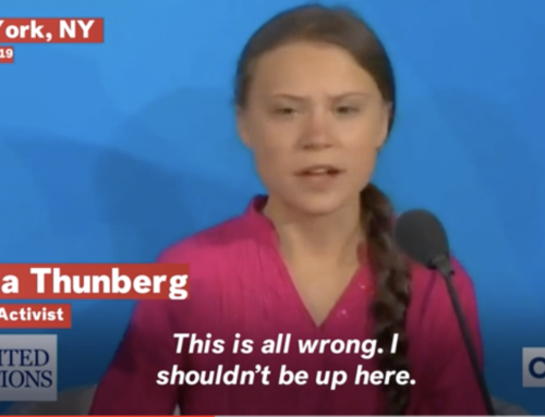 Newsweek: Greta thunberg's adult critics now have a satirical 'helpline' to call: are you 'a grown adult who needs to yell at a child'?