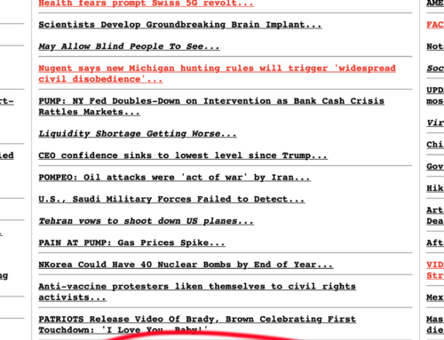 Drudge Report Links to Ebell & Milloy Report: Wrong Again: 50 Years of Failed Eco-pocalyptic Predictions