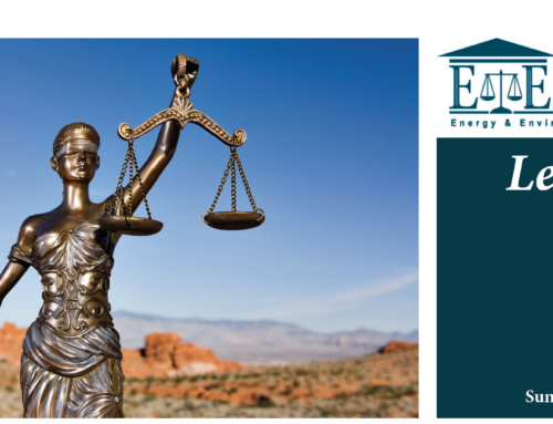 E&E Legal Letters Issue XXIV: Summer 2019