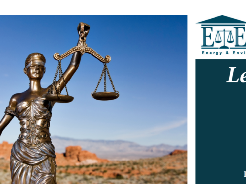 E&E Legal Letters Issue XXIX: Fall 2020