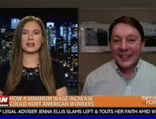 Steve Milloy on OANN talking $15 minimum wage with Kara McKinney on 'Tipping Point'