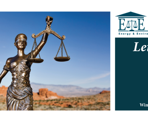 E&E Legal Letters Issue XXX: Winter 2021