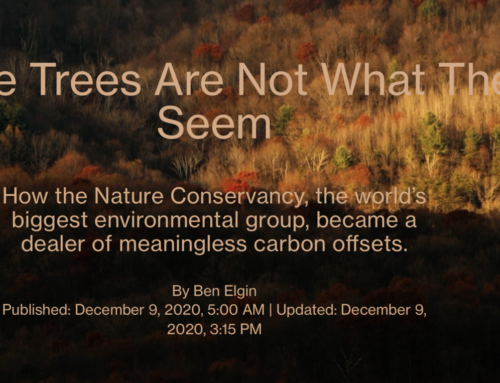 JunkScience petitions SEC on Nature Conservancy carbon offset fraud