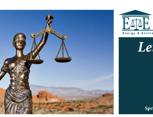 E&E Legal Letters Issue XXXI: Spring 2021