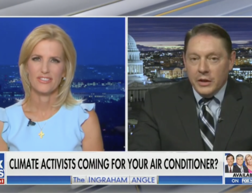 Milloy talks war on air conditioning with Laura Ingraham on FOX News