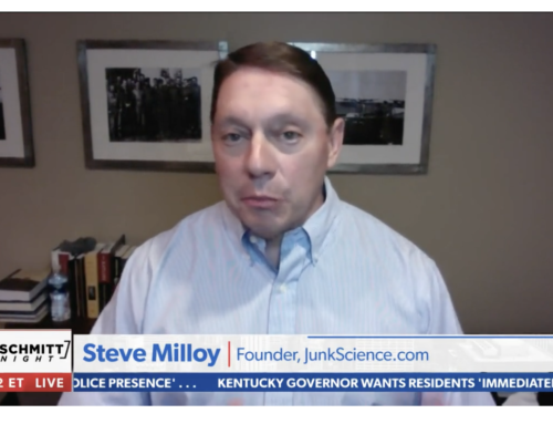 Milloy talks Western wildfires with Rob Schmitt on Newsmax