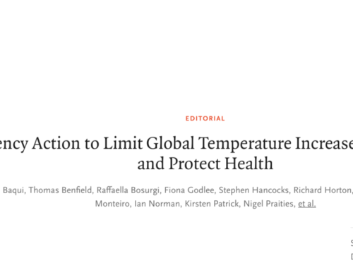 Milloy statement on medical journal climate editorial