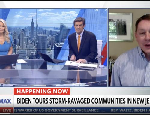 Milloy talks Biden exploitation of Hurricane Ida on Newsmax